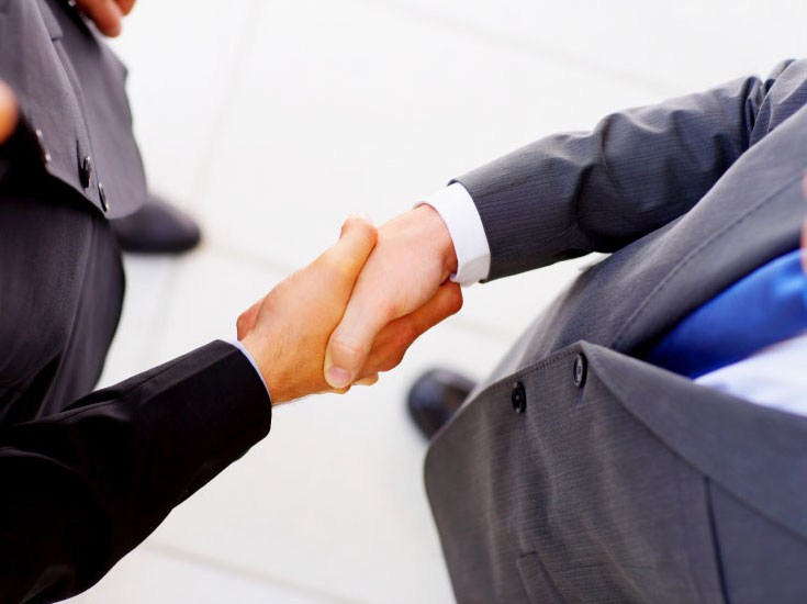 Corporate Policies handshake