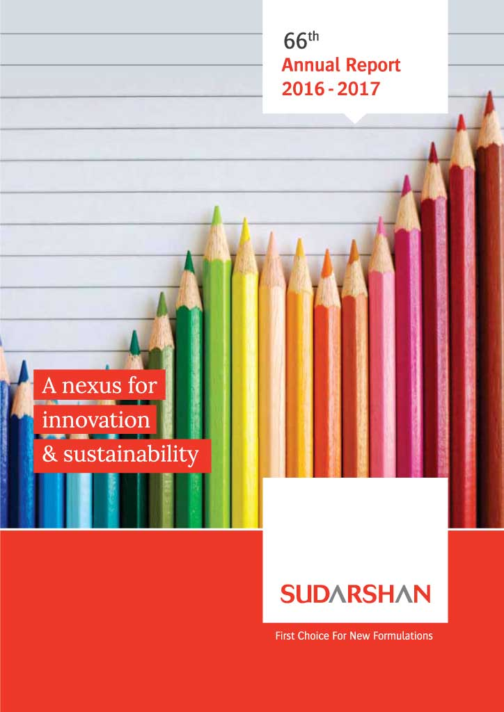 Sudarshan Annual Report 2016-17 cover