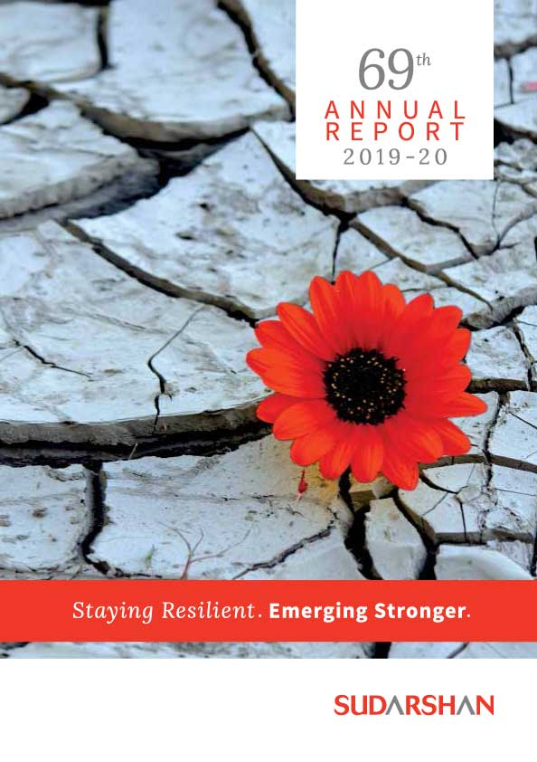 Sudarshan Annual Report 2019-20 cover
