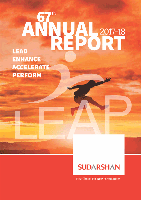 Sudarshan Annual Report 2017-18 cover